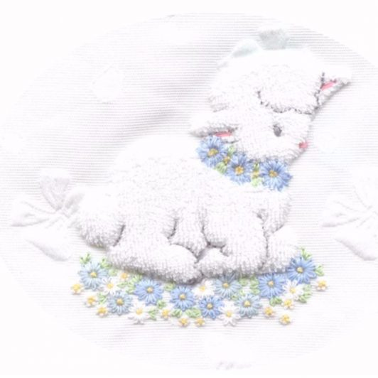 Beautiful Dreamer - Pattern - Children's Baby Blanket