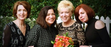 Wendy and Sisters at her Sister's Wedding